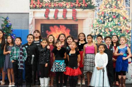 Newhall Community center Caroling 2014 5