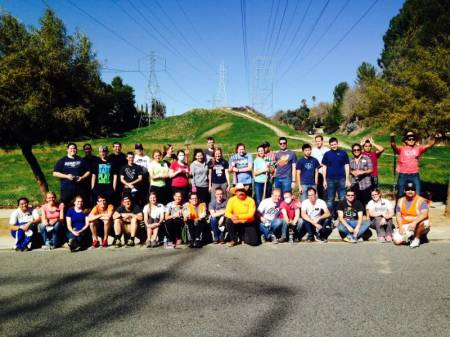 LDS-Parkway-Cleanup-group-photo