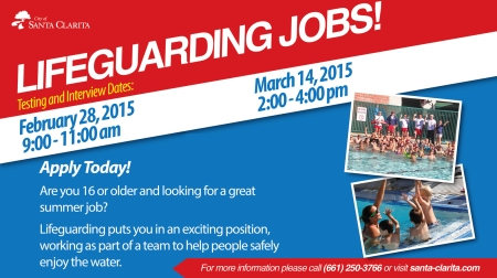 LIFEGUARD RECRUITMENT 2015 monitor slide