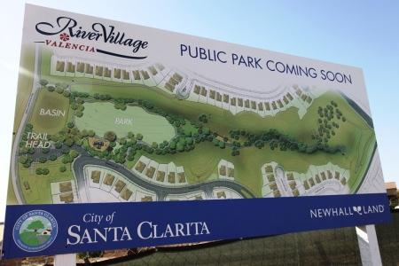 River Village Park Sign