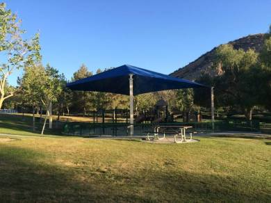 Begonias Lane Park Shade Structure 2015