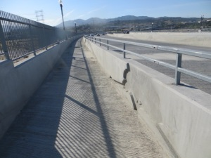 Cross Valley Connector Fallen Warriors Bridge Painting Project 1