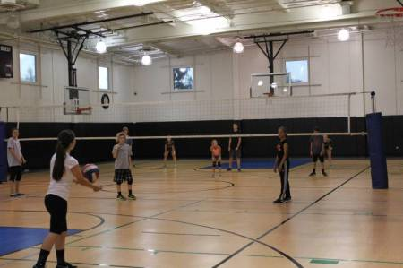 Youth Sports Volleyball Open Run 2015 1