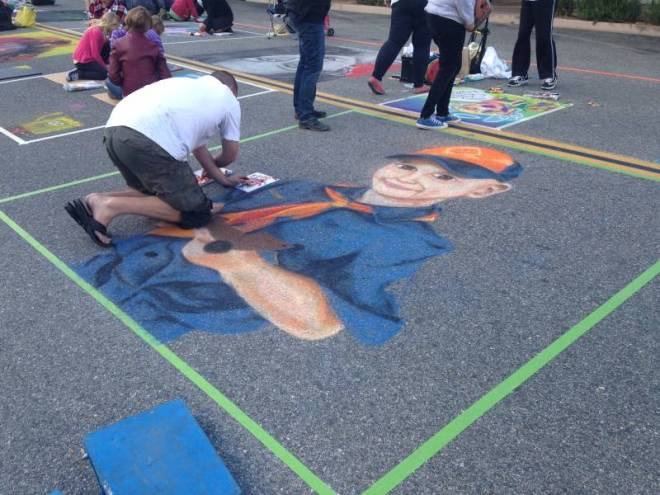 ArtSlam Chalk OTN 2