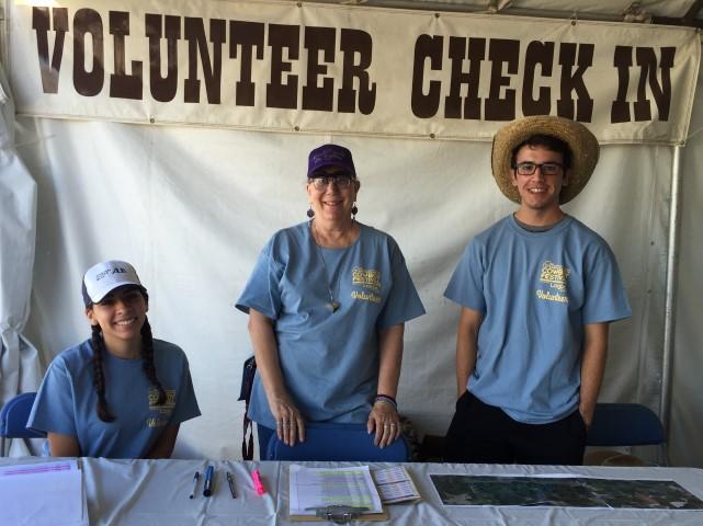 Cowboy Festival 2015 Volunteers 1