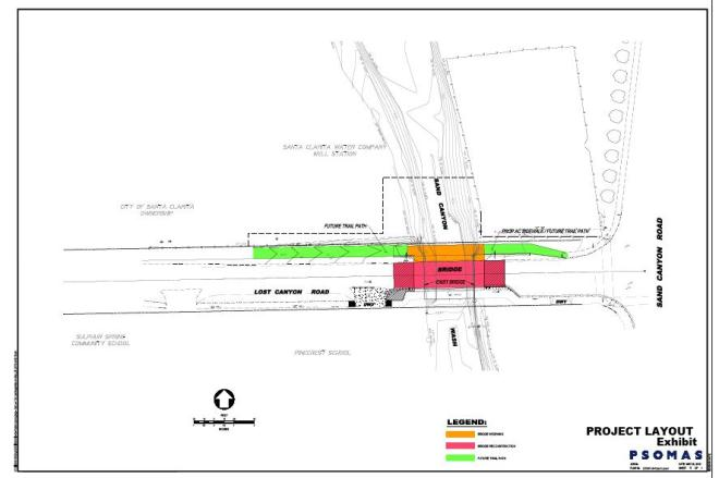Lost Canyon Bridge Widening Project