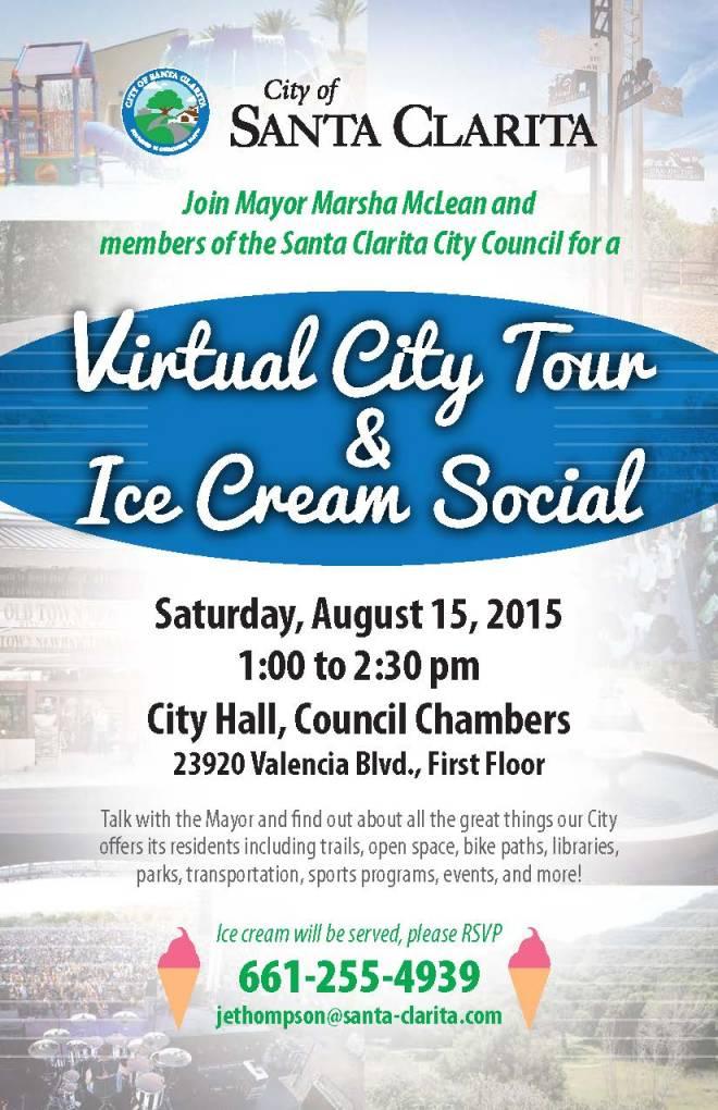 Virtual Tour Ice Cream Social Evite 2015