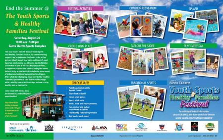 Youth Sports Festival Flyer 2015