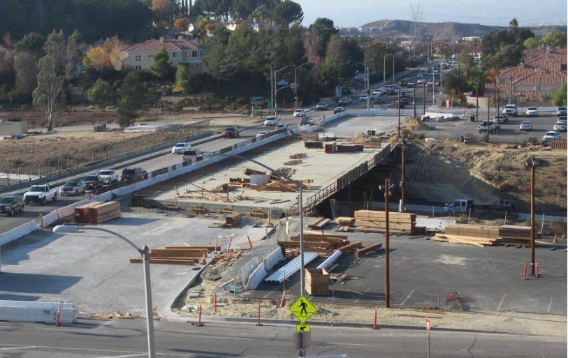 Golden Valley Road Bridge December 2015 Update 1